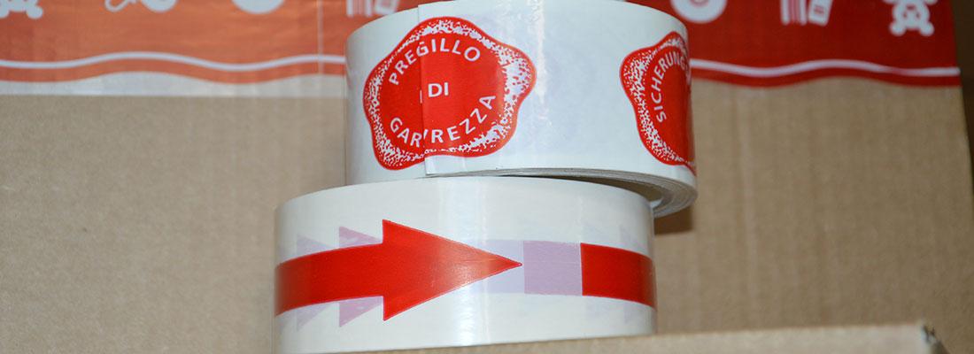 Printape, imballare un pacco con il Nastro adesivo personalizzato, Nastri adesivo personalizzato