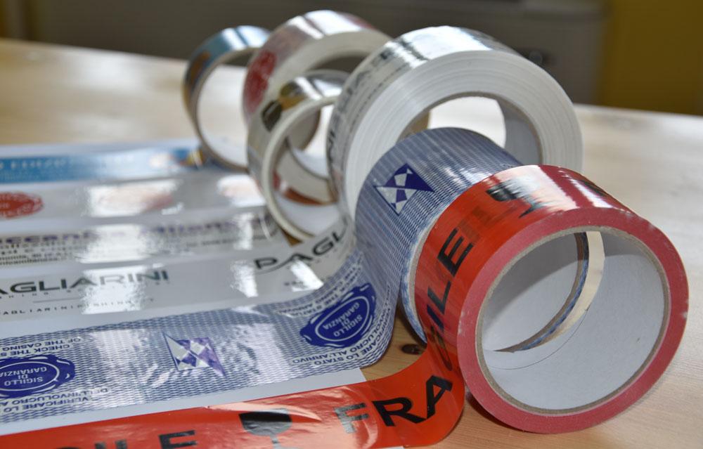 nastri adesivi personalizzati per imballaggio