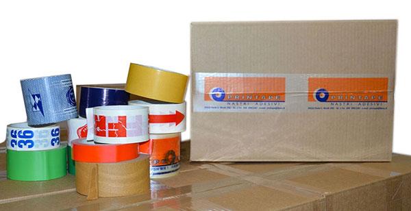 Produzione nastri adesivi personalizzati in piccole quantità padova
